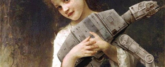 Given the uptick in Star Wars awareness, this is quite timely and fun too! #ATAT #Art #LotsOfFun #Culture