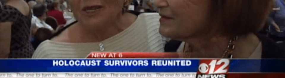 Holocaust survivors reunited after 68 years