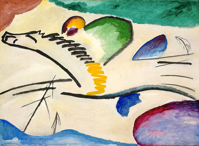 vasily kandinsky, lyrisches, 1911