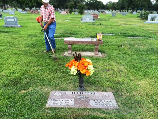 grandma childress grave
