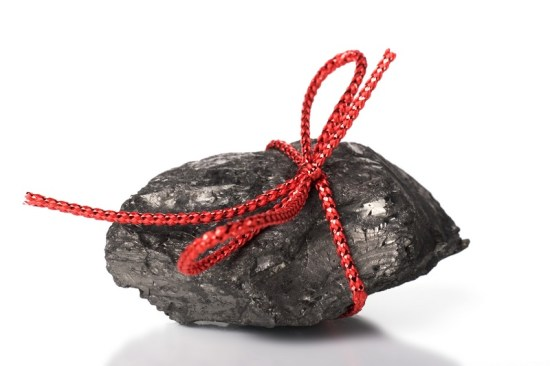 Tammy McLane's Christmas Present: A lump of coal