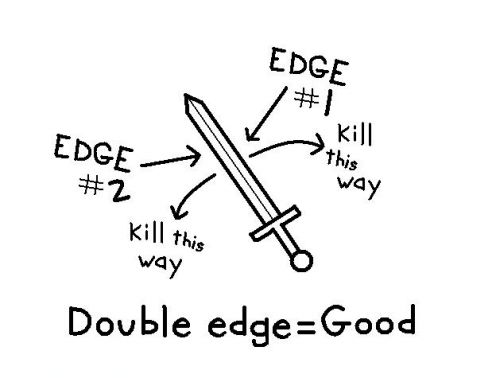 double-edge-sword
