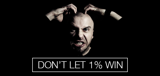 Don't Let 1% Win