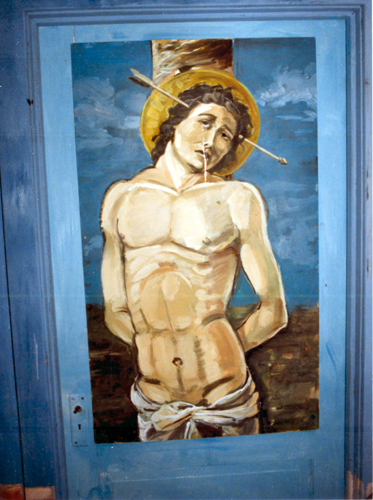 9. Crying St. Sebastian