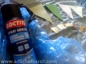 Adhesive Spray Glue for Bunting Banner