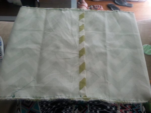fold pillow cover for sewing