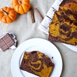 Pumpkin-Brownie Swirl Bread