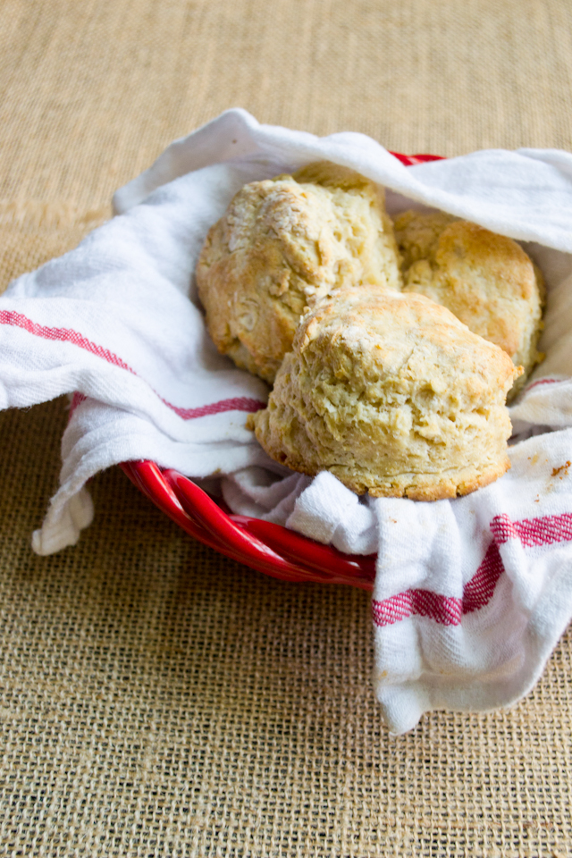 Whole Wheat Buttermilk Biscuits from A Dash of Soul
