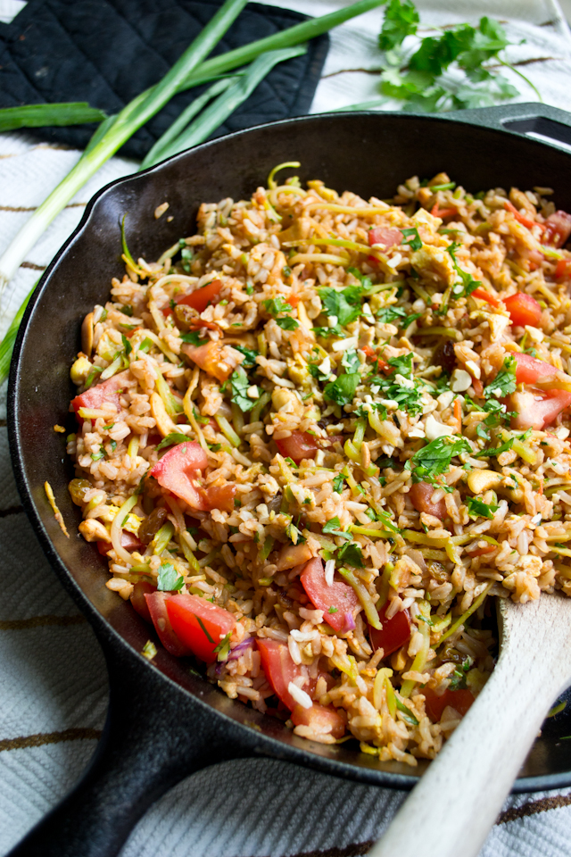 Thai Fried Rice from A Dash of Soul