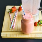 Secret Strawberry-Banana Protein Smoothie