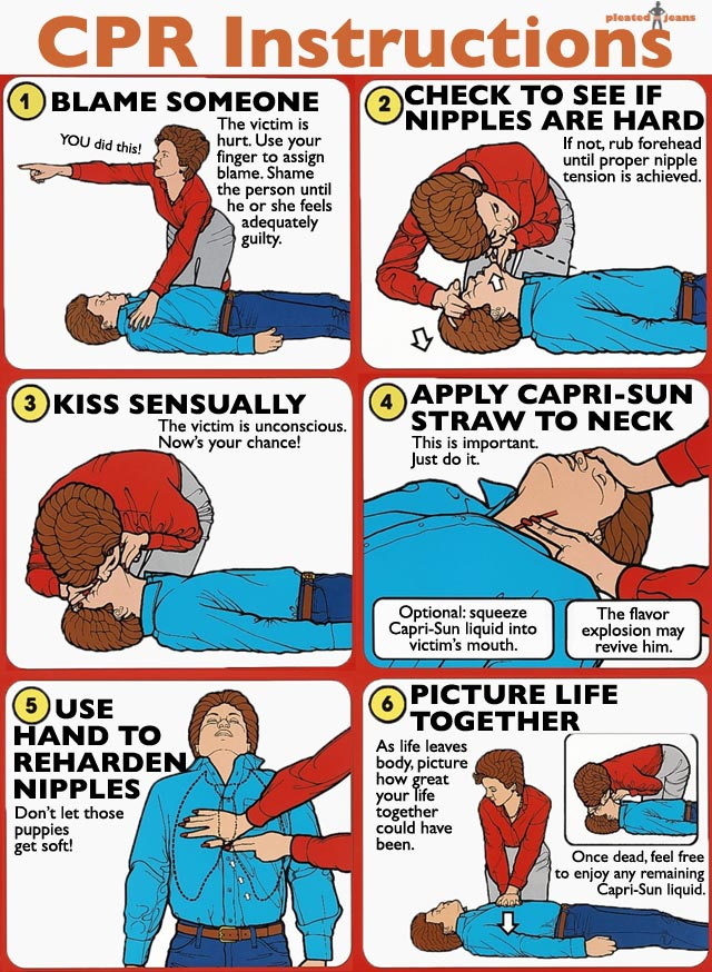 CPR-Instructions