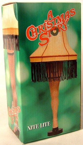 A Christmas Story Nightlight Leg Lamp