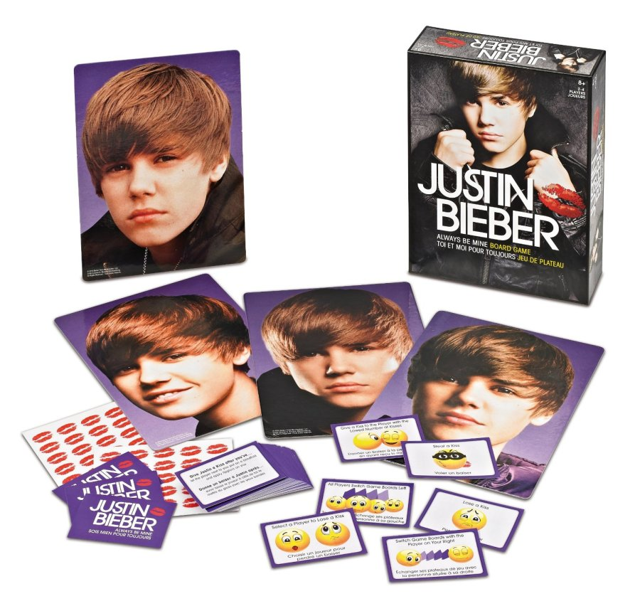 Justin Bieber Always Be Mine Board Game