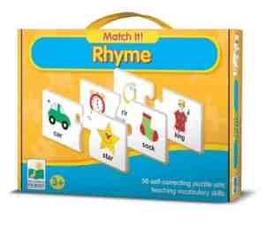 match it rhyming puzzle