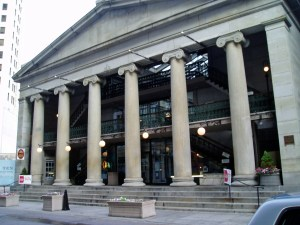 The Westminster Arcade in Providence is one of the most historical, famous landmarks in Rhode Island.