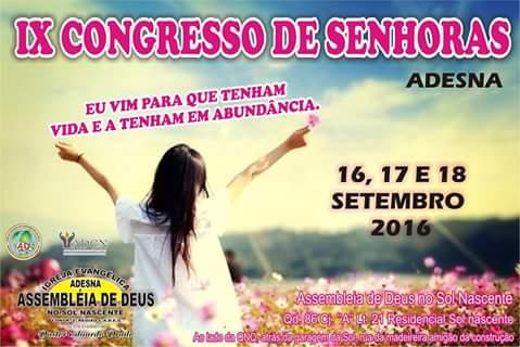 Congresso de Senhoras no Sol Nascente, Pastor Eduardo