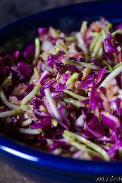 Asian Slaw Recipe - Add a Pinch