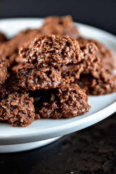 Chocolate No Bake Cookies Recipe - Add a Pinch