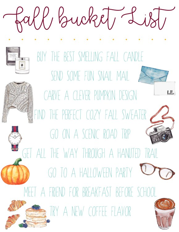 the ultimate fall bucket list