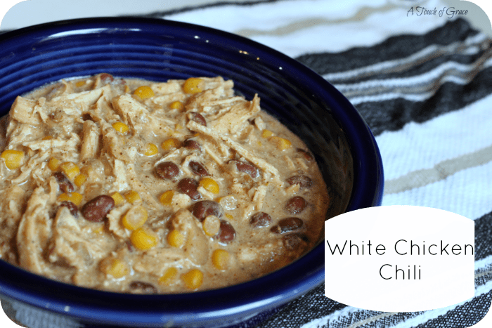 White Chicken Chili - A Touch of Grace