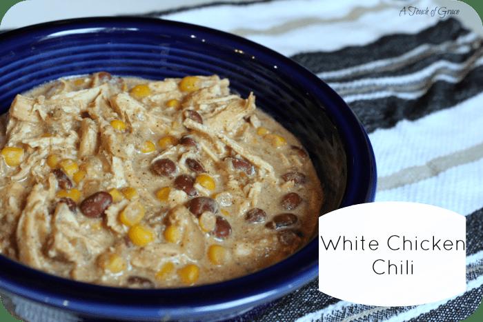 White Chicken Cream Cheese Chili Recipe — Dishmaps