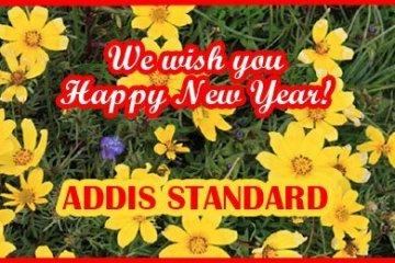Addis Standard New year card