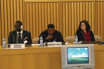 African Governance meeting August 2011