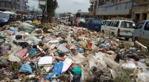 A City threatened by trash