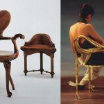 adelaparvu.com despre mobila maestrilor Gaudí si Dali