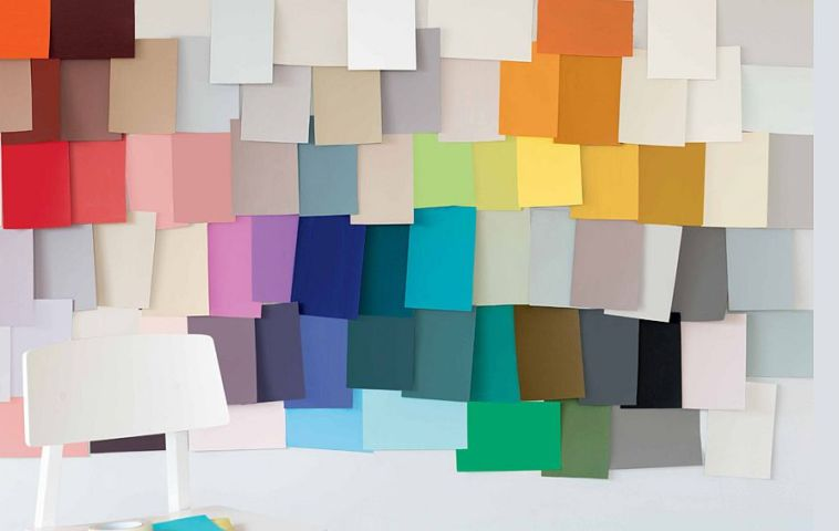 Paleta de culori 2014 de la Dulux, marca Akzo Nobel