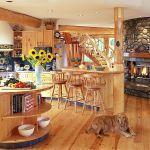 adelaparvu.com despre bucatarii rustice, case din busteni, case din lemn, Foto Designma (6)