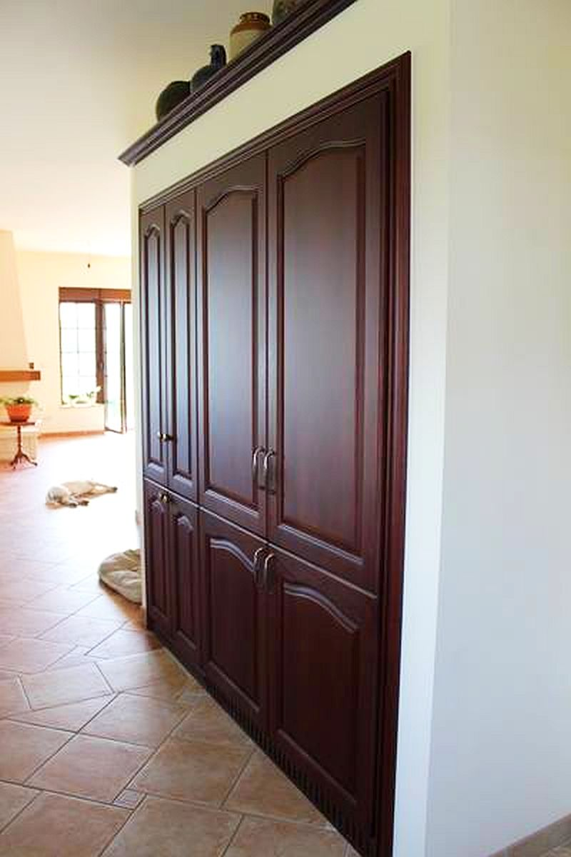 adelaparvu.com despre mobilier fix din BCA, mese insula, rafturi, pereti despartiotori, semineuri cu Ytong Design (11)