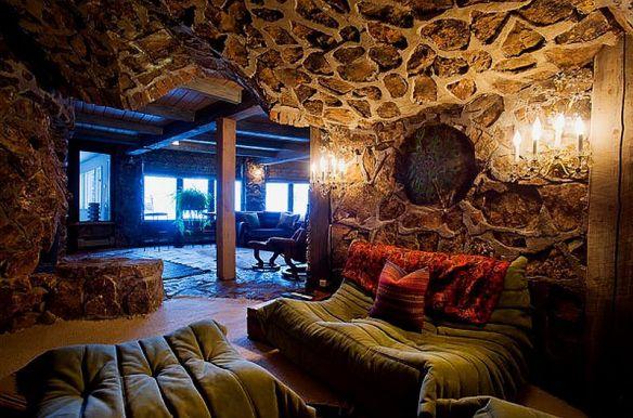 adelaparvu.com despre casa circulara in Aspen, casa SUA, foto NYT, Michael Brands (8)