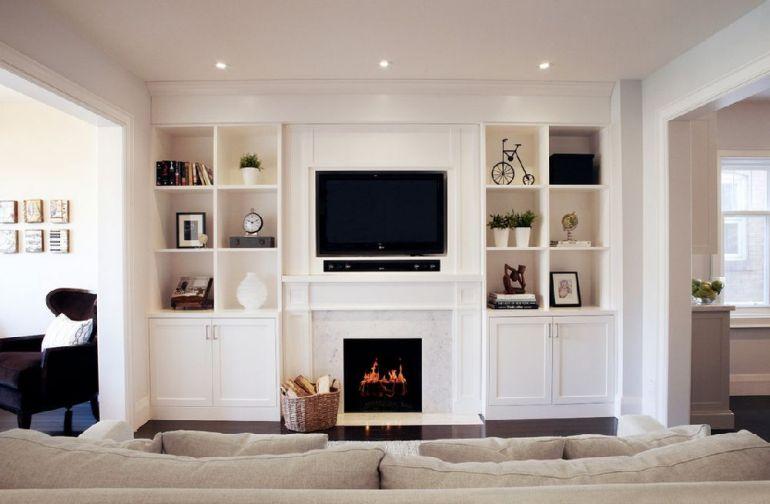 Foto Ali Budd Interiors televizorul în cameră Unde se pune televizorul în cameră și la ce distanță de canapea sau pat? adelaparvu