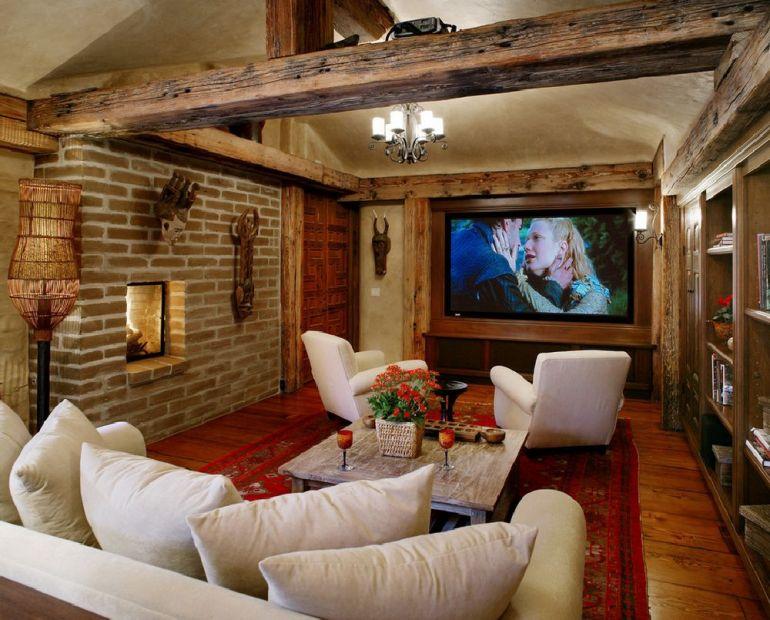 Foto Maienza Wilson Interior Design televizorul în cameră Unde se pune televizorul în cameră și la ce distanță de canapea sau pat? adelaparvu