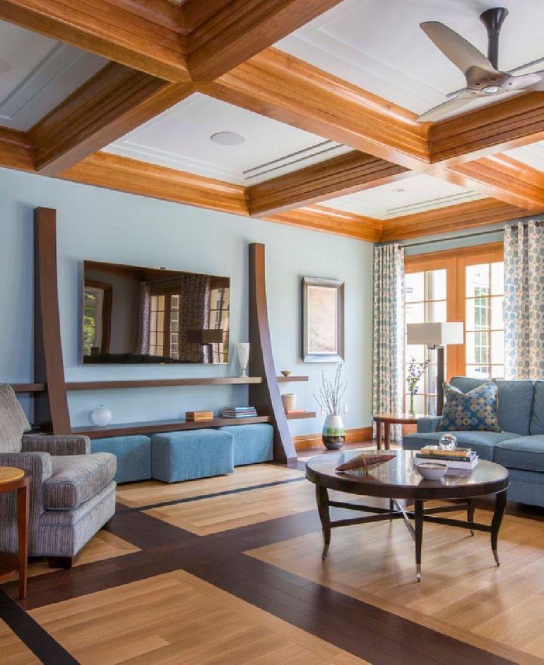 Foto Sroka Design televizorul în cameră Unde se pune televizorul în cameră și la ce distanță de canapea sau pat? adelaparvu
