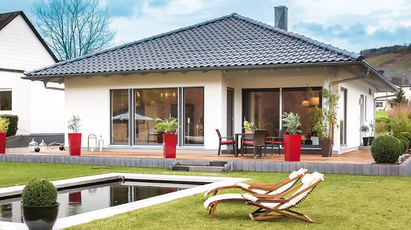 Model casa Kundenhaus, Suprafata 87 mp, 2 camere, Proiect Schwoerer Haus