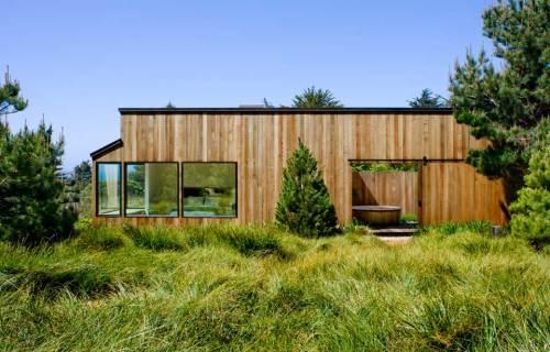 adelaparvu.com despre casa minimalista pe malul marii, Arhitectura Turnbull Griffin Haesloop, Foto David Wakely (6)