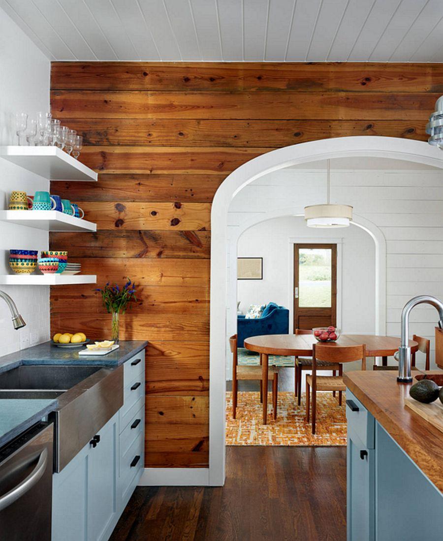 adelaparvu.com despre lemn recuperat, amenajare cu lemn recilat, Foto Clayton&Little Architects