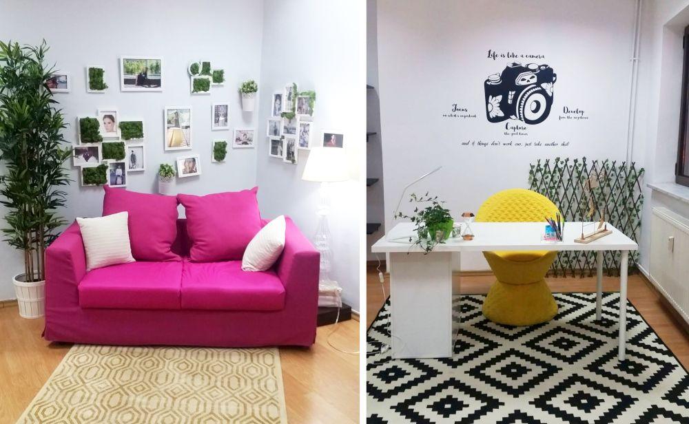 Studioul de vblogger a lui Tily Niculae