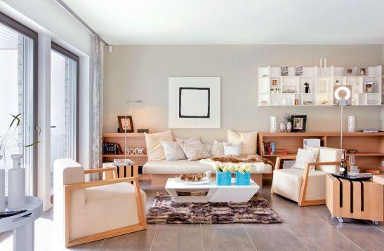 Living modern reinterpetare a anilor 50 de la Schwoerer Haus