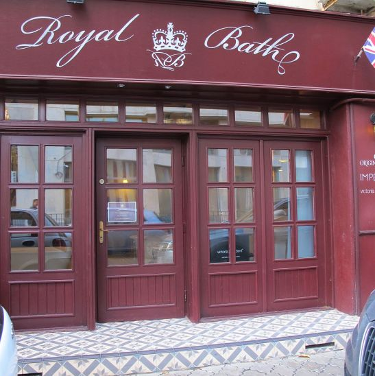 Fatada showroom-ului Royal Bath