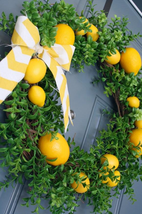 Summer Lemon Wreath