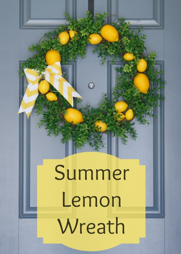 Summer Lemon Wreath
