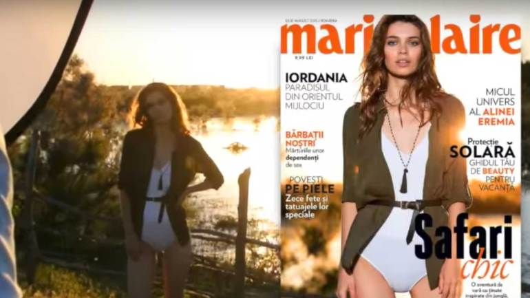 Making of Marie Claire iulie august 2015