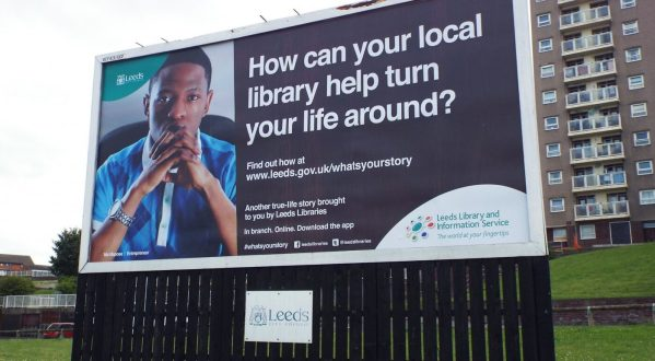 What's Your Story Billboard - Leeds Library