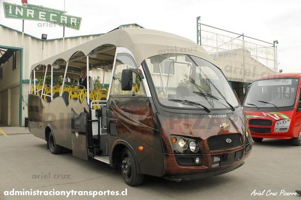 maururu travel - isla de pascua - bus ara moai - hop on / hop off - géminis - inrecar - fábrica - reportaje - chevrolet