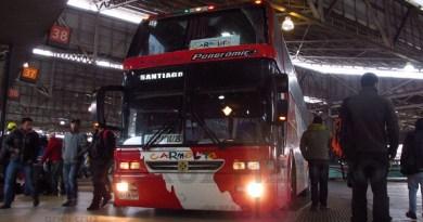 pullman carmelita - sf1809 - jum buss 400t - terminal san borja - santiago