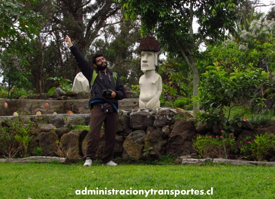 ariel - moai - ipc - jardín botánico - tau kiani