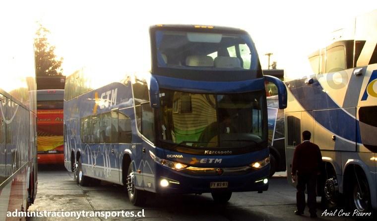fyws81 - buses etm - paradiso 1800 dd g7 - terminal sur